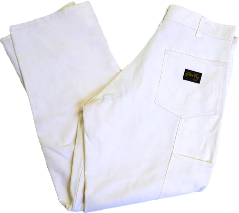 Stan Ray White Drill Painter Pants