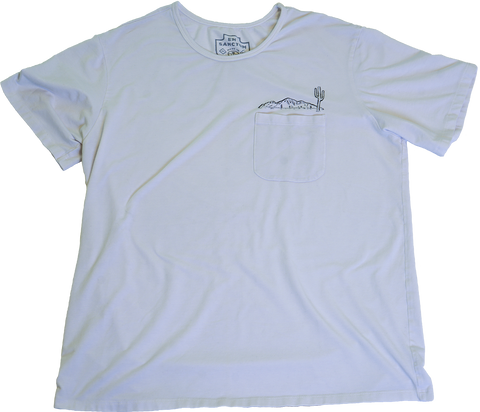 Morgana White Pocket Tee