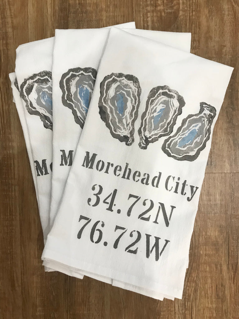 Morehead City Oyster Towel