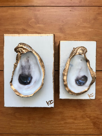 Single Oyster Art XS - Soft White - Katie Chalk