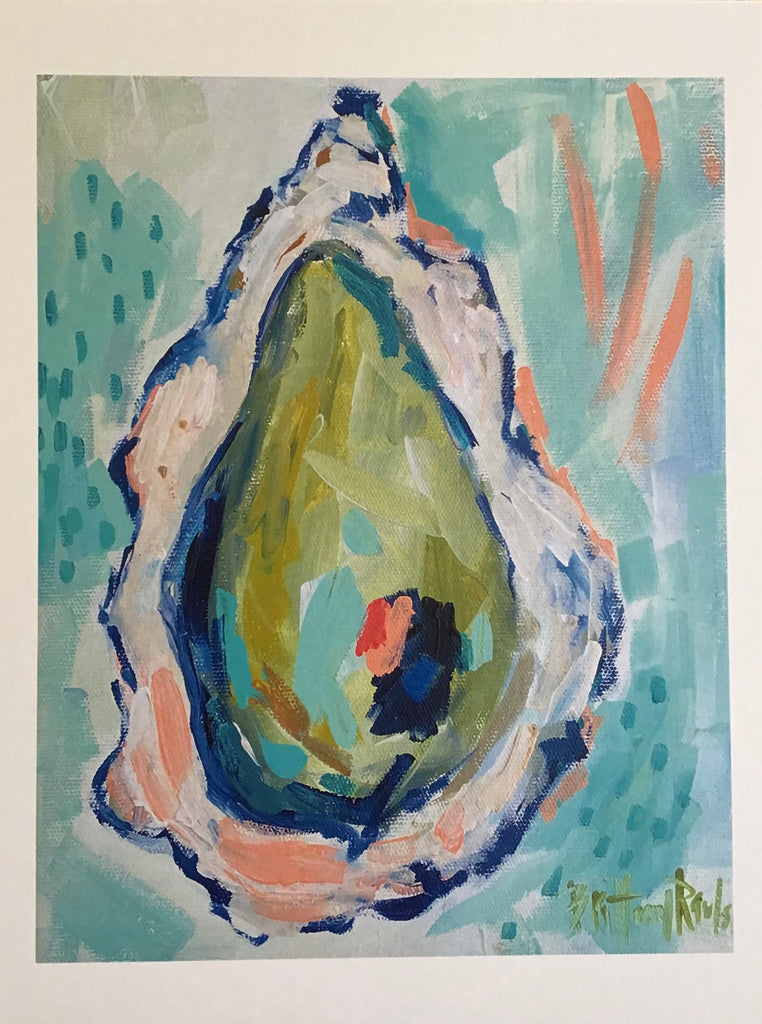 Single Oyster Print - Brittany Rawls