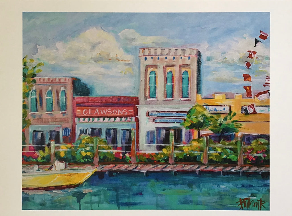 Front Street, Beaufort Print - Brittany Rawls