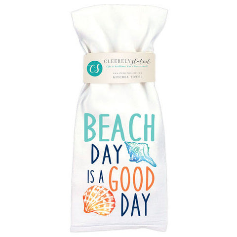 Beach Day Good Day Towel