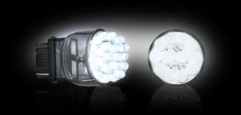 Recon 264214WH 3157  Unidirectional Wedge Style LED Bulb WHITE - Mr. Motorsports
