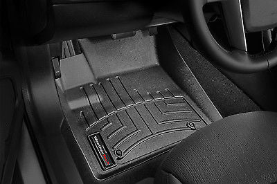 WeatherTech® DigitalFit FloorLiner - Cadillac Escalade ESV - 2007-2010 - Black-Front - Mr. Motorsports