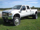 1999-2015 Ford F250 F350 Smoked Cab Roof Light Kit White LED Light Wiring Harness - Mr. Motorsports