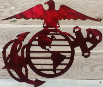 United States Marine Corps USMC Metal Sign 20x15 - Mr. Motorsports