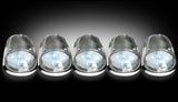 Cab Light Kit - Dodge RAM 03-16 CLEAR LED  - WHITE LED Part # 264146WHCL - Mr. Motorsports