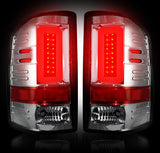 Tail Lights CLEAR LED 3rd GEN 14-17 GMC SIERRA SINGLE WHEEL Part # 264239CL - Mr. Motorsports