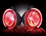 Puddle Light Kit - 09-14 Ford F-150  & Raptor Red High Power LED Mirror Lights   Part # 264242RD - Mr. Motorsports