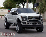 Headlights - Projector SMOKED Fits Ford Superduty 11-16 CCFL Technology  Part # 264272BKCC - Mr. Motorsports