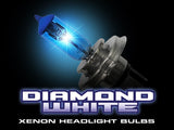 Headlight Bulbs in Diamond White - H13 9008 (4,600 KELVIN)  Part # 264H13DW - Mr. Motorsports