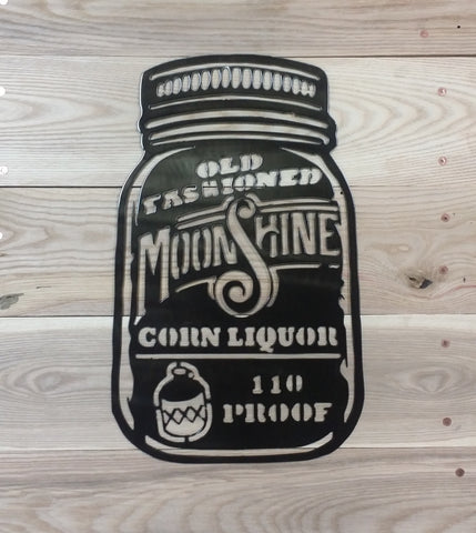 Moonshine-Metal Sign - Mr. Motorsports