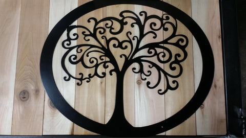 Tree Of Life-Metal Sign - Mr. Motorsports