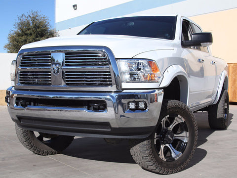 10-15 DODGE RAM 2500 3500 Fog Light Kit with 4 Duallys Cree LED lights - Mr. Motorsports