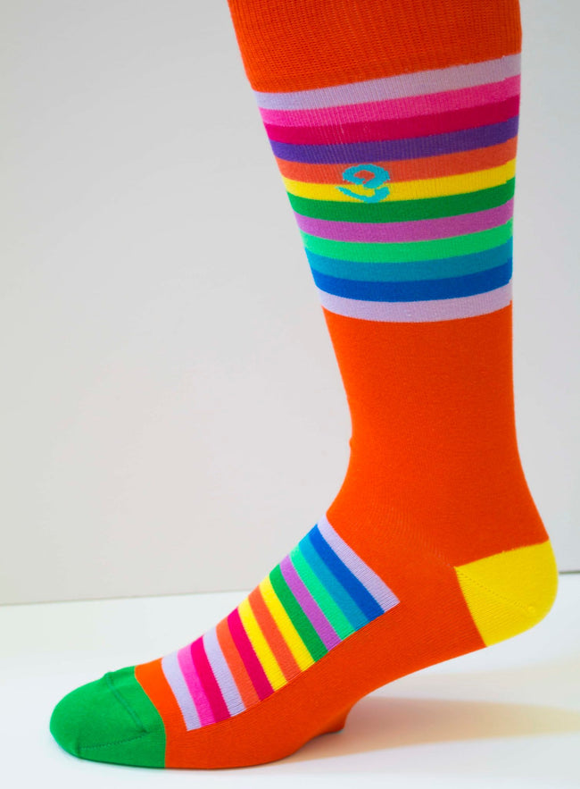 Soul Socks make you stand out - black socks are out