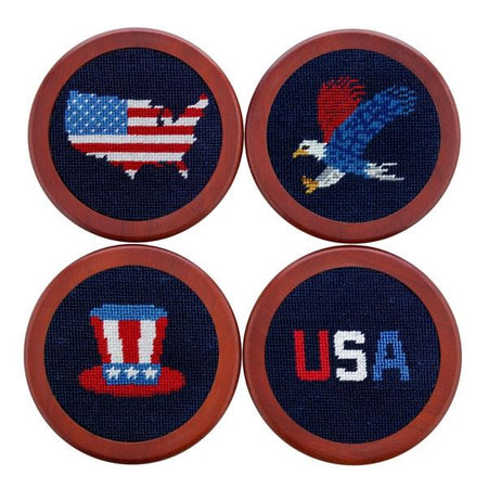 CST-62 Americana Coaster Set SPECIAL ORDER, ALLOW 8 WEEKS)