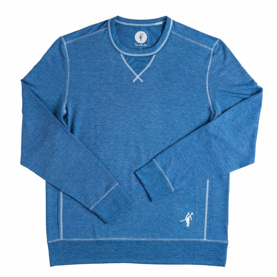 ACK embroidered GROWLER L/S CREW (SEA SILK)