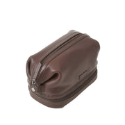 Brown Leather Dopp Kit