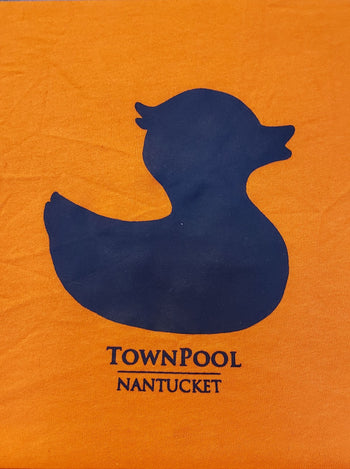 Nantucket Bookstore T TownPool Duck Tee Shirt