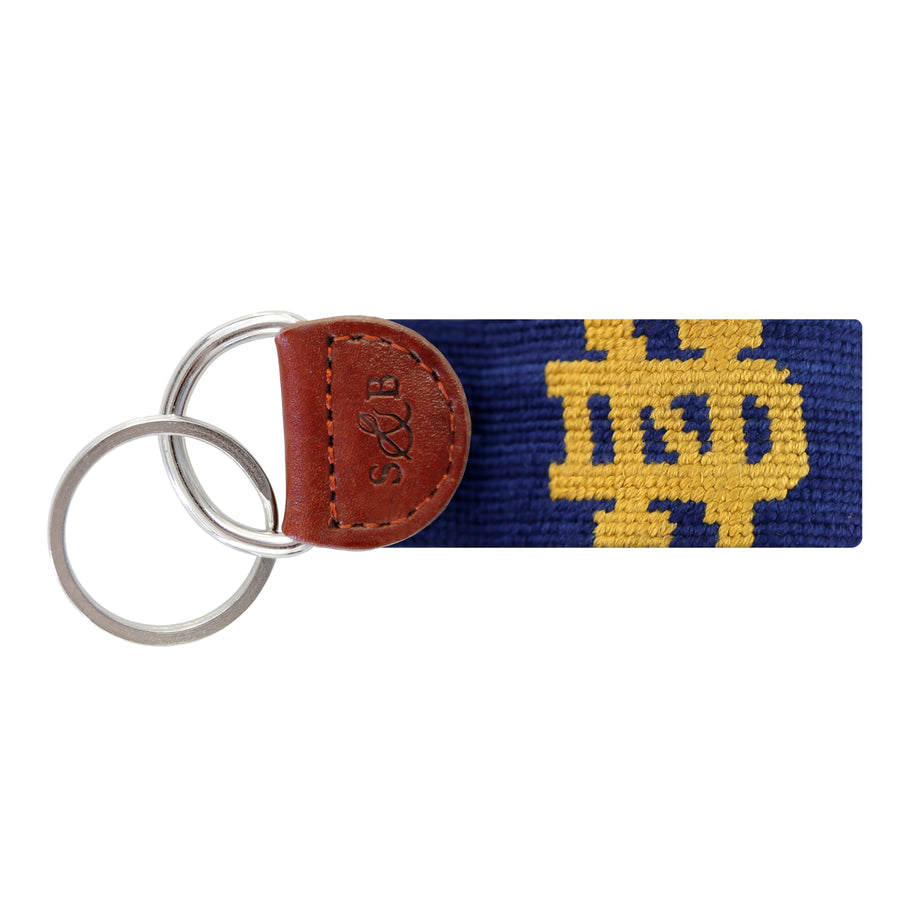 F-Notre Dame Key Fob (Classic Navy))