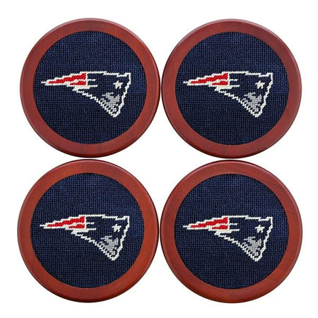 CZ-New England Patriots Coasters (Dark Navy))