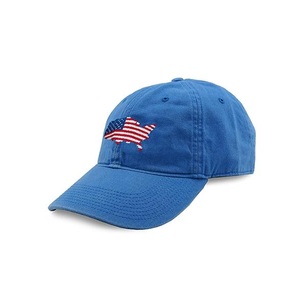 HAT-158 USA Map Hat (Royal))
