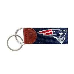 F-New England Patriots Key Fob (Dark Navy))