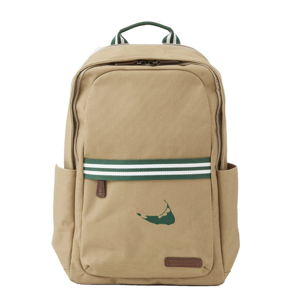 Hunter/White Backpack