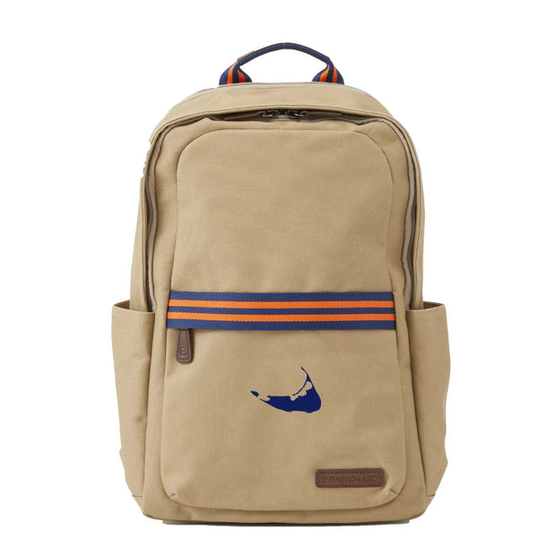 Navy/Orange Backpack