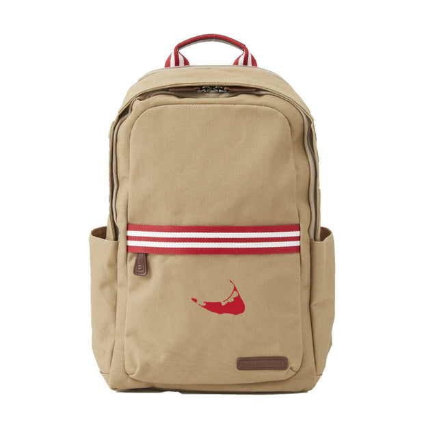 Red/White Backpack