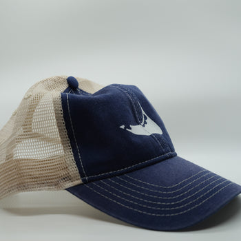 Nantucket Bookstore Hat Nantucket Mesh Hat