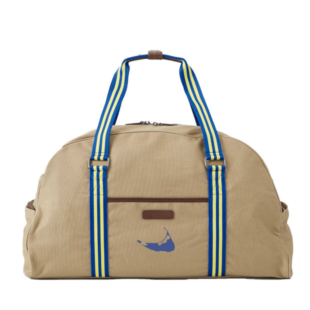 Blue/Yellow Duffel Bag