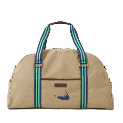 Green/Blue Duffel Bag