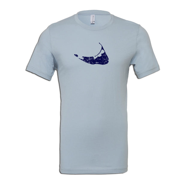 Island on Grey Short Sleeve Tee Shirt