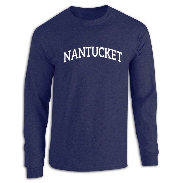 Nantucket Navy Long Sleeve Tee Shirt