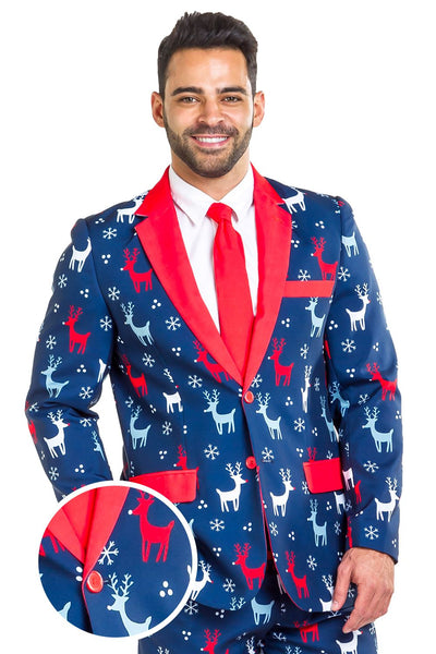 Tipsy Elves The Reindeer Gains Blazer w/ Tie
