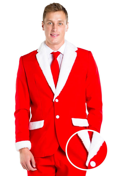 Tipsy Elves Santa Blazer with Tie