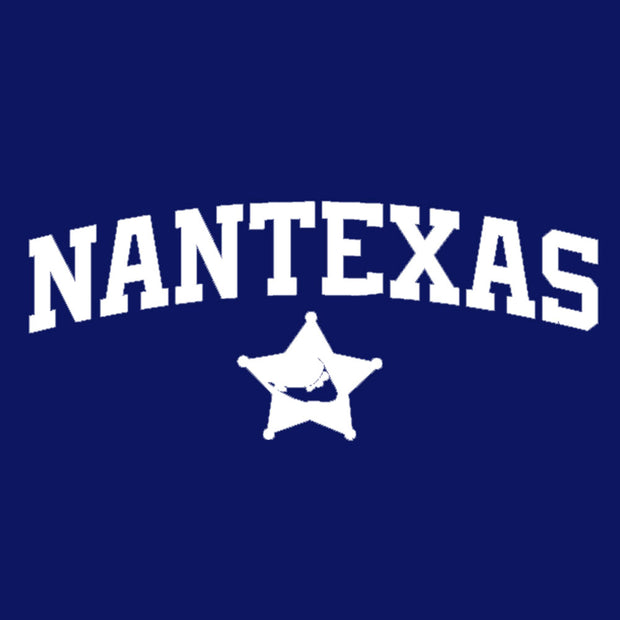 NanTEXAS Navy Long Sleeve Tee Shirt