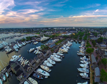 "Nantucket Docks Flying -- 30"" x 48"" -- Custom 3/4"" plexiglass frame"