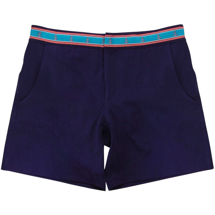 Nakina's Navy - Athletic Swim Trunk