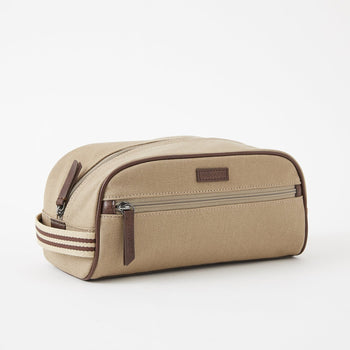 Baekgaard Dopp Kit with Stripe