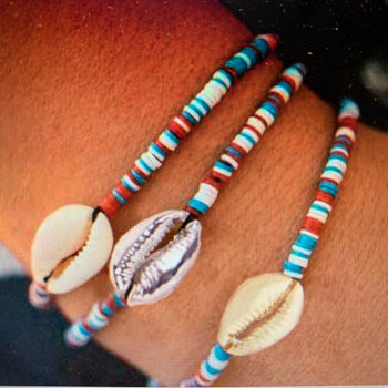 Nantucket Bookstore Bracelet SeaShell Bracelet