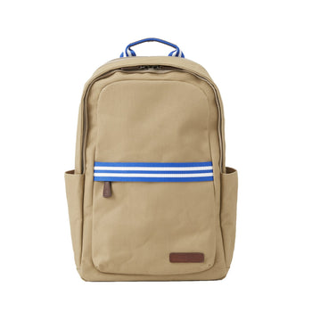 Baekgaard Teddy Zipper Backpack Canvas Des