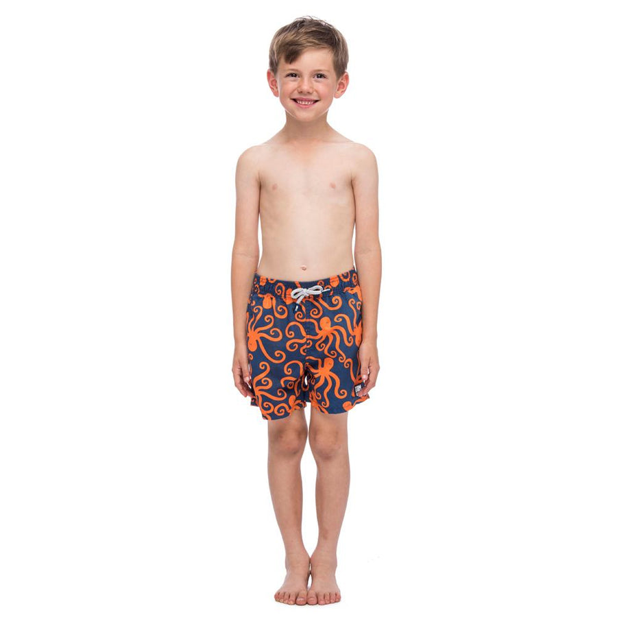 Tom & Teddy Swim Trunks-Octopus1