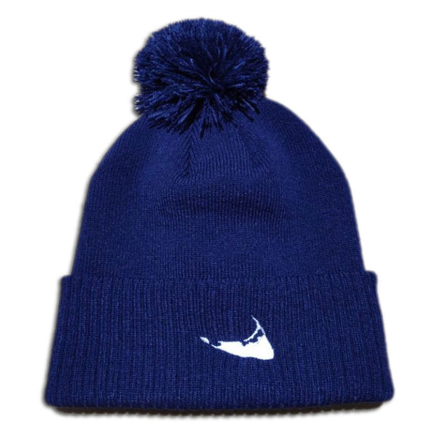 Navy Nantucket Winter Hat