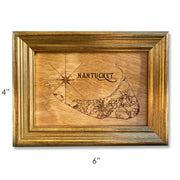 Nantucket Wood Etching