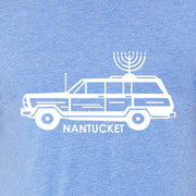 Hanukkah Blue Short Sleeve Tee Shirt