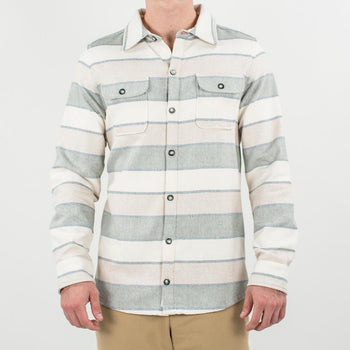 Toes on the Nose CAMP COZY L/S WOVEN Cotton Shirt Jacket
