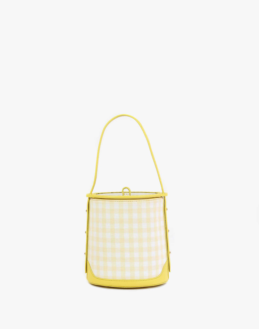 Neely & Chloe No. 42 The Ice Bucket Bag Gingham